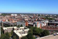 Birmingham linia horyzontu West Midlands Anglia Zdjęcie Royalty Free