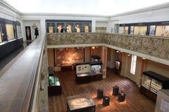 Birmingham museumbesökare Fotografering för Bildbyråer