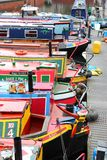 Birmingham narrowboats Royalty Free Stock Image