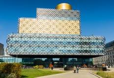 Birmingham offentligt bibliotekbyggnad Arkivfoton