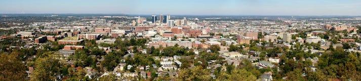 Birmingham panoramico immagine stock