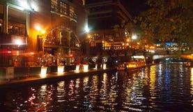 Birmingham przy nighttime, Anglia Zdjęcie Stock