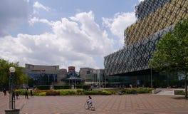 Birmingham quadrado centenário fotografia de stock royalty free