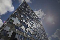 BIRMINGHAM, Regno Unito - 3 maggio 2015 - il cubo Immagine Stock