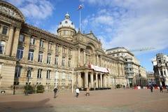 Birmingham, Reino Unido - 6 de noviembre de 2016: Exterior del edificio del Ayuntamiento de Birmingham en Victoria Square fotos de archivo