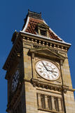 Birmingham's clock tower. Added to Council house Stock Photos