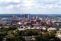 Birmingham Skyline Royalty Free Stock Images