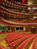 Birmingham Symphony Hall. Auditorium: Birmingham Symphony Hall, UK royalty free stock photography