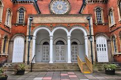 Birmingham synagoga royaltyfri bild
