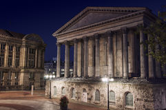 Birmingham Town Hall stock images