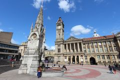 Birmingham UK Royalty Free Stock Images
