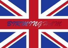 birmingham uk chorągwiany Zdjęcia Stock