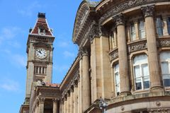 Birmingham UK Royalty Free Stock Photo
