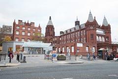 Birmingham, UK - 6 November 2016: Exterior Of The Birmingham Children`s Hospital royalty free stock images