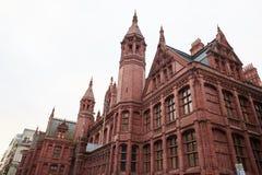 Birmingham UK - 6 November 2016: Yttersida av den Birmingham domstolen UK Royaltyfria Foton