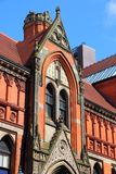 Birmingham, UK. Birmingham in West Midlands, England. Birmingham City University - Margaret Street campus stock images