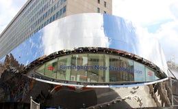 Birmingham ulicy staci budynku Nowy znak obrazy royalty free