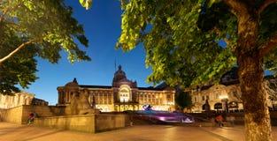 Birmingham urząd miasta zdjęcia royalty free