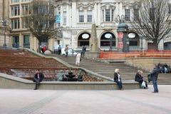 Birmingham Victoria Square Stock Images