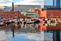 Birmingham waterway Royalty Free Stock Photos