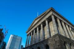 Birminghamm, Reino Unido - 3 de outubro de 2017: Câmara municipal de Birmingham imagens de stock