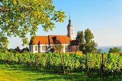 Birnau Monastery Church Royalty Free Stock Photos