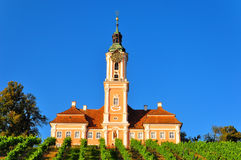 Birnau Monastery Church Royalty Free Stock Images