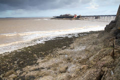 Birnbeck Island and Old Pier Weston-super-Mare Royalty Free Stock Photography