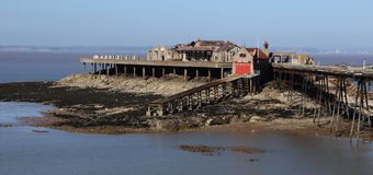 Birnbeck Pier Weston-super-Mare Somerset England historic Englis Stock Photos