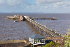 Birnbeck Pier Weston-super-Mare Somerset England UK Stock Image