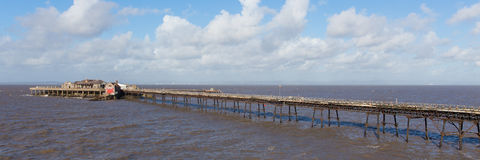 Birnbeck Pier Weston-super-Mare Somerset England UK Stock Photos