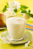 Birne Smoothie Stockfoto