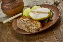 Birnen, Bohnen und drobina obraz stock
