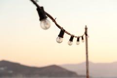 Birnen im Sonnenuntergang Lizenzfreies Stockfoto