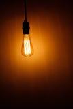 Birnen-Lampe Lizenzfreies Stockfoto