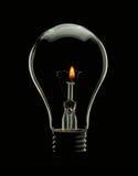 Birnen-Lampe Stockbild