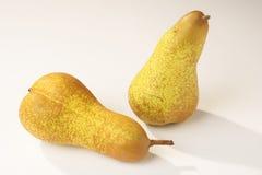 birnen pears Arkivfoton