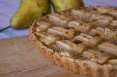 Birnen-Torte Stockbild