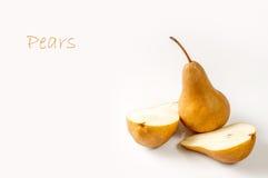 Birnenfrucht Lizenzfreie Stockfotos
