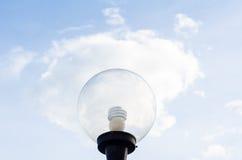 Birnenlicht auf Wolke Stockfoto
