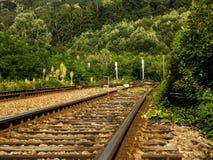 从Birnova的Railyard 免版税库存图片