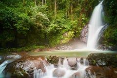 Biroro Waterfalls. Local waterfalls in Malino, Makassar, Indonesia Stock Image