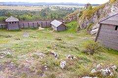Birow mountain - old settlement. Stock Photography