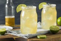 Birra alcolica di rinfresco Margarita Beerita immagini stock