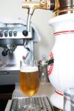 Birra alla spina Immagine Stock