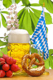 Birra bavarese Immagine Stock