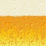 Birra chiara Fotografia Stock