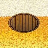 Birra del fondo Immagini Stock Libere da Diritti