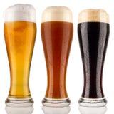 Birra del frumento Fotografia Stock