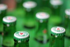 Birra dell'Heineken Fotografia Stock Libera da Diritti